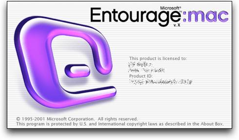 Entourage Mac