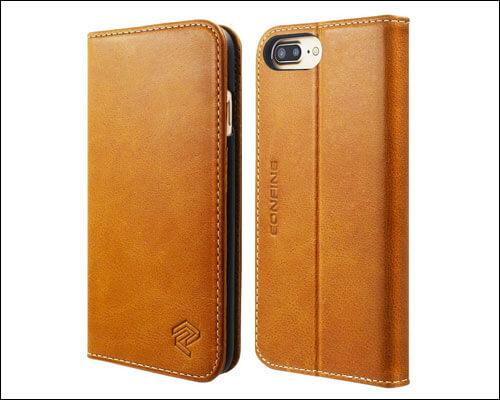Eonfine Flip Case for iPhone 8 Plus