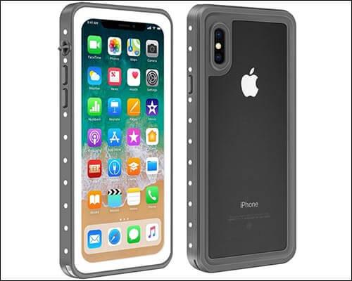 Eonfine Waterproof Case for iPhone X