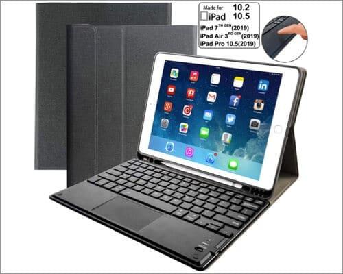 Eoso Trackpad Keyboard Cases for iPad