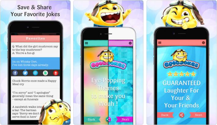 Epic Jokes iPhone and iPad App Screenshot
