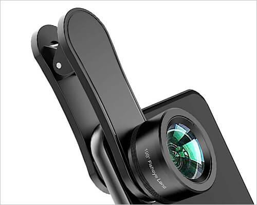 Erligpowht Fish Eye Lens Camera kit for iPhone 6-6s