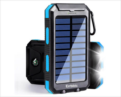 Errbbic Solar Portable Charger for iPhone