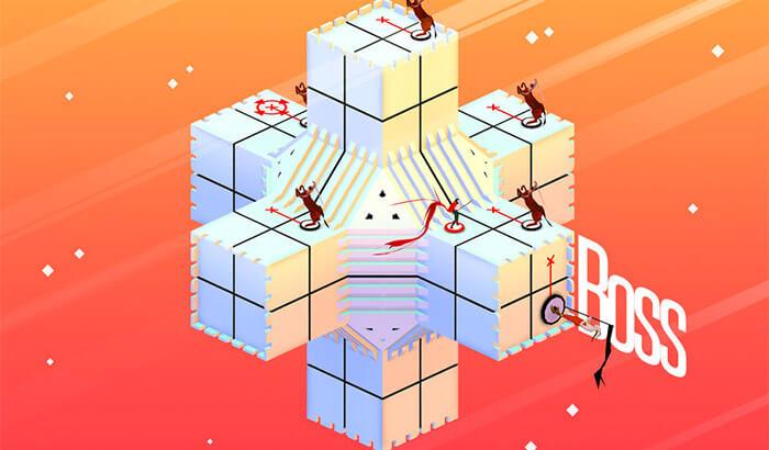 Euclidean Lands iPhone and iPad AR Puzzle Game Screenshot