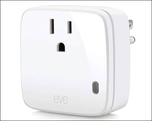 Eve Energy Smart Plug Compatible with Apple HomeKit