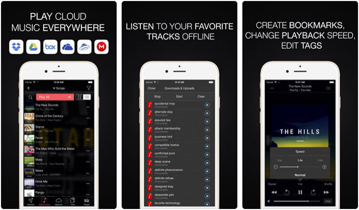 Evermusic iPhone and iPad App Screenshot