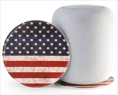 Exact Design HomePod Leather Coaster