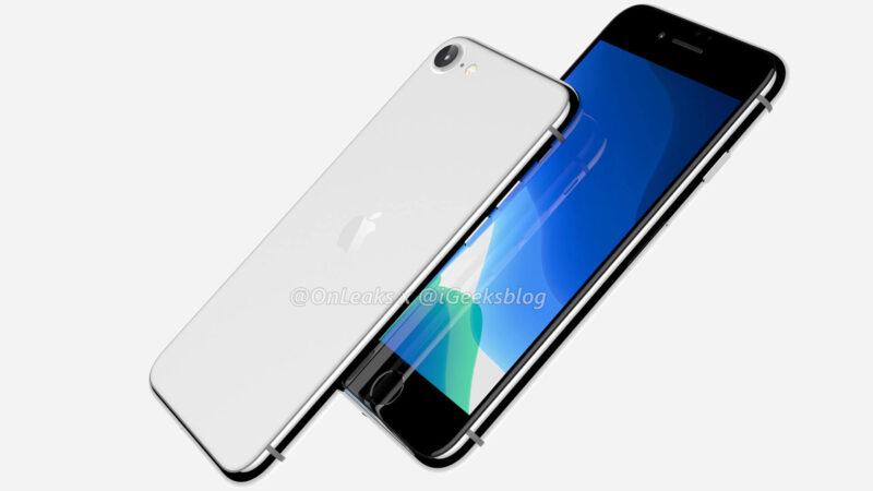Exclusive iPhone SE 2 aka iPhone 9 Render