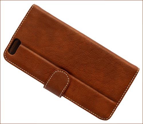 Exinoz Classic PU Leather iPhone 6s Case