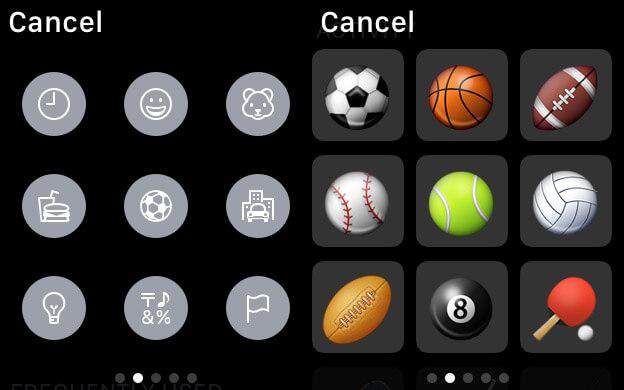 Explore Emojis on Apple Watch