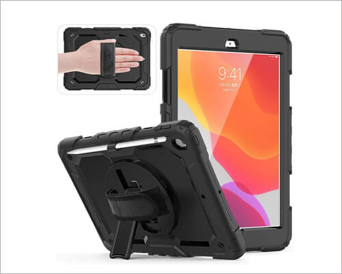 FANSONG Kickstand Case for iPad 10.2 inch