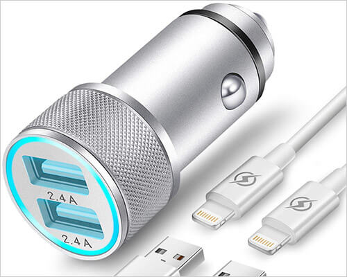 FIMARR iPhone X, 8, and 8 Plus Car Charger