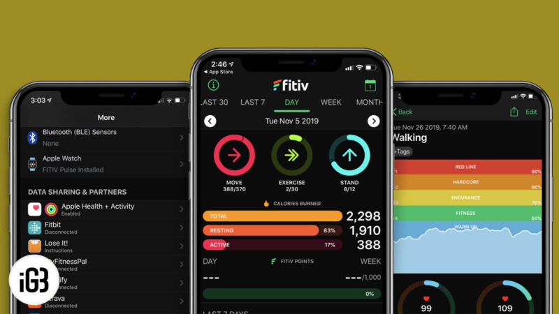 FITIV Pulse iPhone and Android App Review
