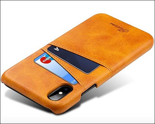 FLY HAWK iPhone X Leather Case