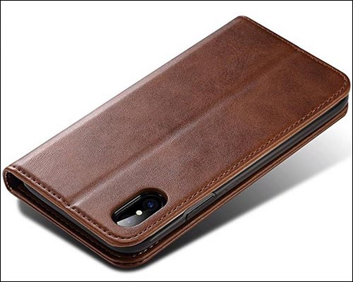 FLY HAWK iPhone X Leather Wallet Case