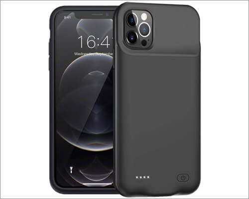 FNSON battery cases for iPhone 12 Pro Max