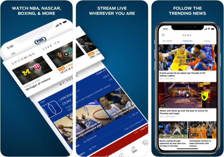 FOX Sports FIFA App for iPhone and iPad Screenshot