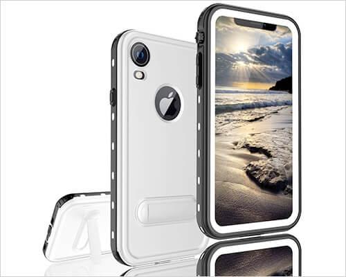FXXXLTF Kickstand Case for iPhone XR