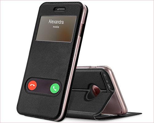 FYY Folio Case for iPhone 8-7 Plus