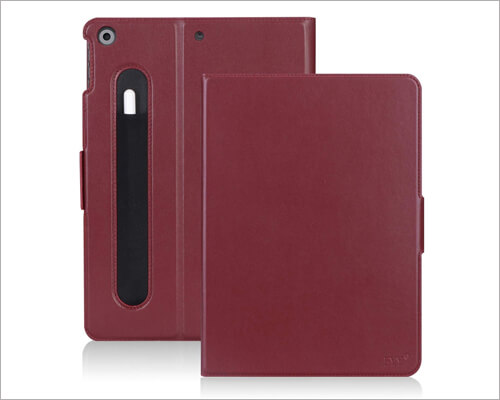 FYY Leather Case for iPad 10.2 inch