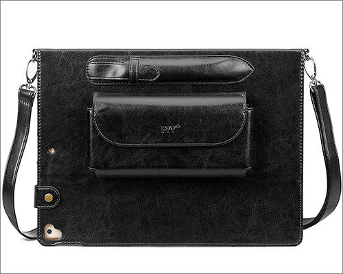 FYY Leather Case for iPad Pro 12.9-inch 2015-2017