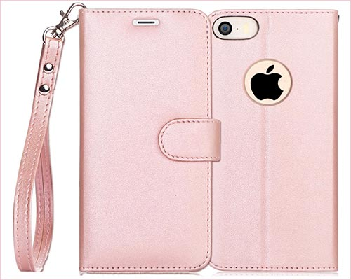 FYY iPhone SE and iPhone 5s Leather Case