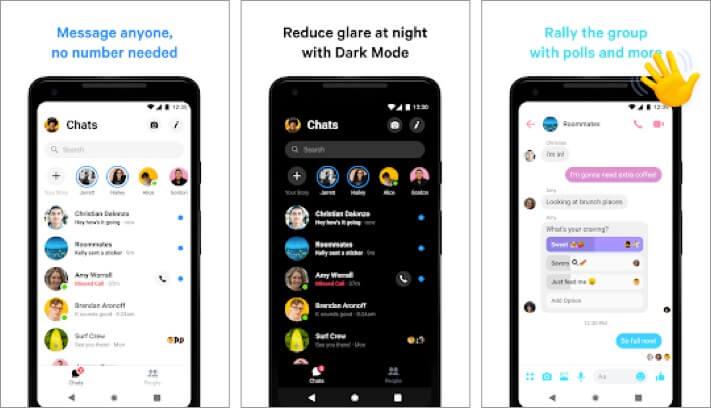 Facebook Messenger Android App Screenshot