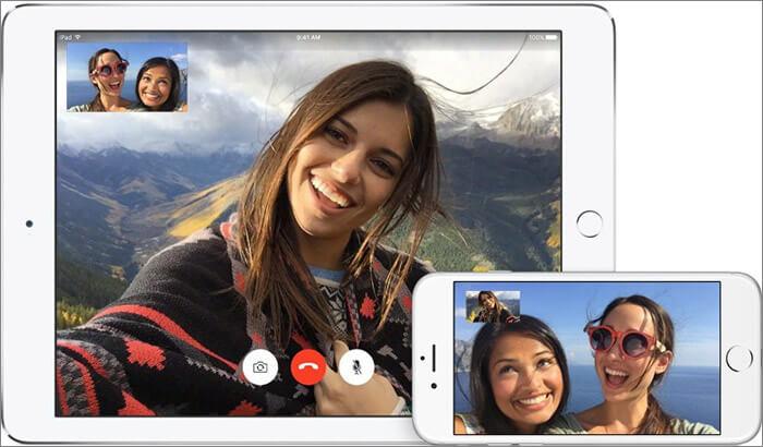 Facetime iPad Calling App Screenshot
