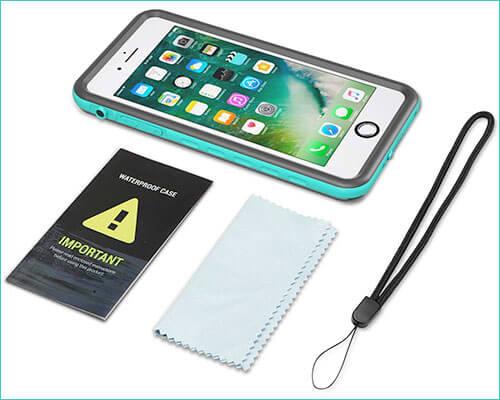 Fansteck Waterproof Case for iPhone 7