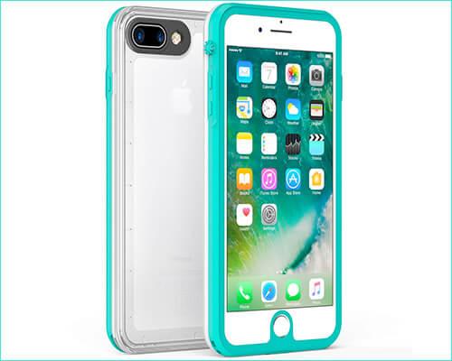 Fansteck iPhone 7 Plus Waterproof Case