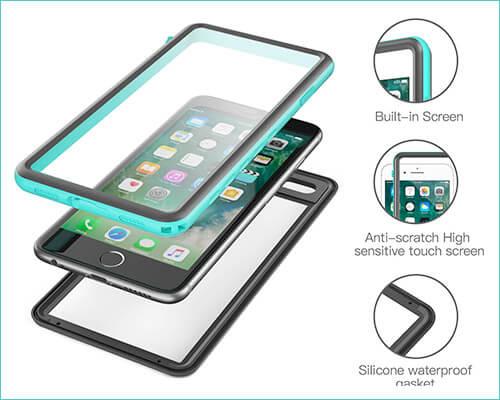 Fansteck iPhone 8 Waterproof Case