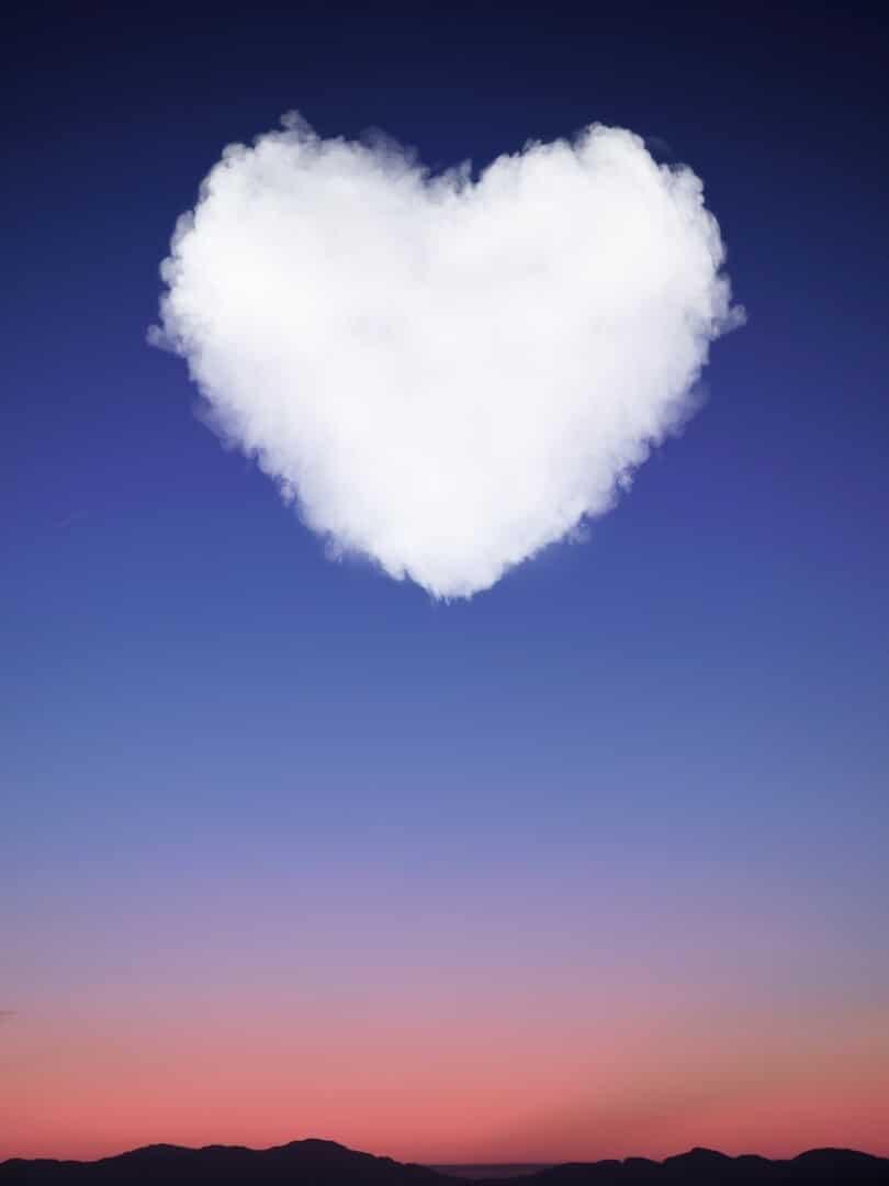 Fantasy Love Valentine Wallpaper for iPhone