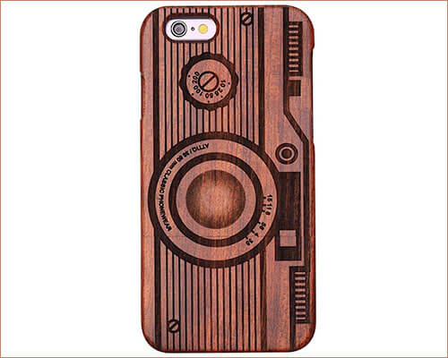 Fashion Class iPhone SE Wooden Case