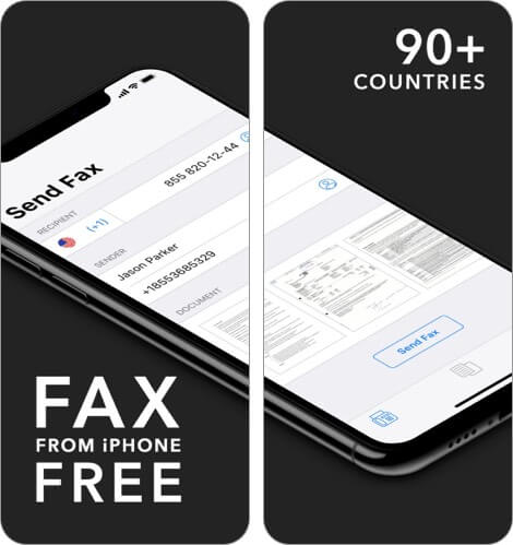 Fax Free App for iPhone and iPad Screenshot