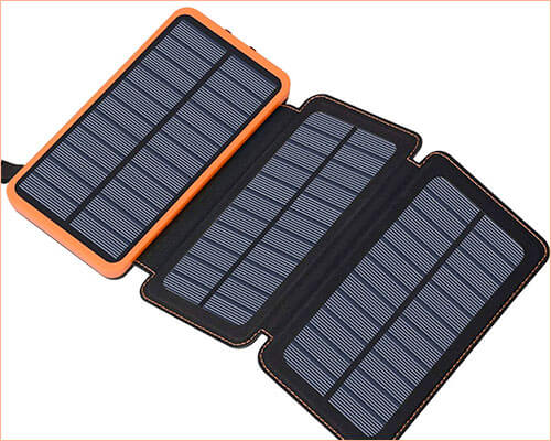 Feelle Solar Charger for iPhone