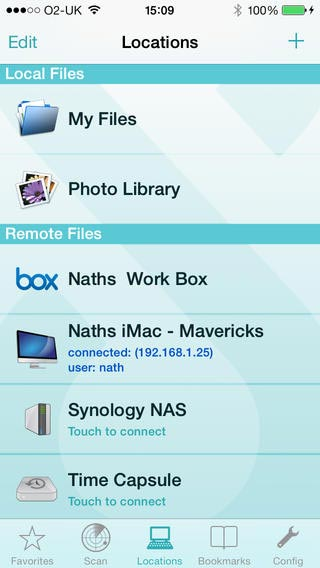 FileBrowser Remote File Access App for iPhone and iPad