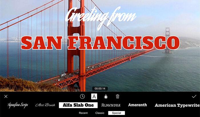 Filmmaker Pro iPhone App Screenshot