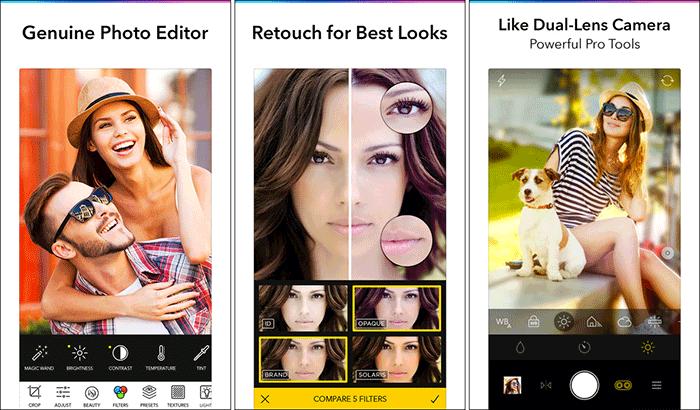 Фотофильтры и эффекты Filterra для iPhone и снимков экрана приложения