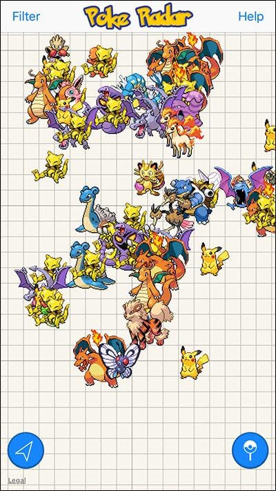 Find All Pokemon on iPhone