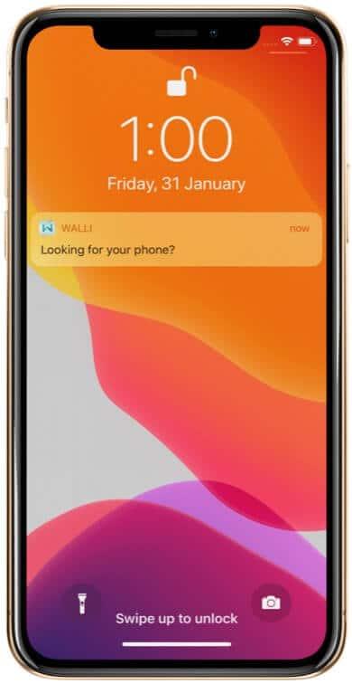 Find Phone Using Smart Wallet