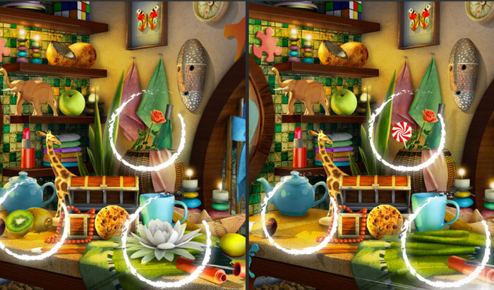 Find the Difference.s Rooms iOS Game Screenshot