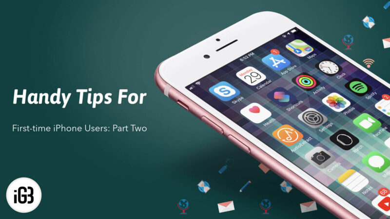First Time iPhone User Tips Part Two