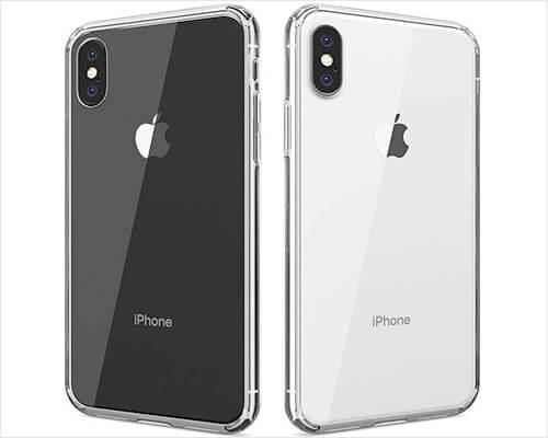 FlexGear iPhone Xs Transparent Case