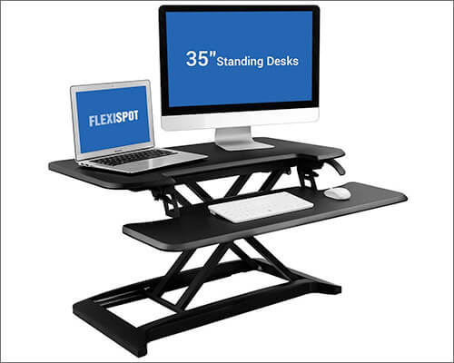 FlexiSpot Standing Desk for iMac, MacBook, and Windows PC