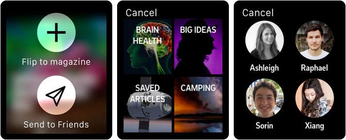 Flipboard Apple Watch News App Screenshot