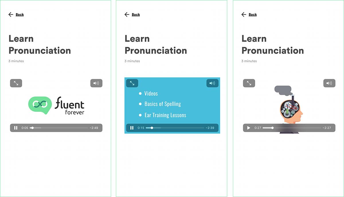 Fluent Forever Language Learning iOS App Video Tutorials
