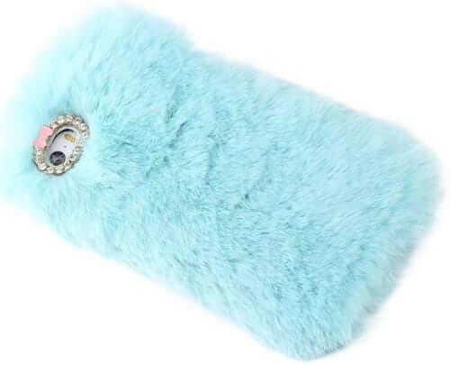Fluffy Winter Warmer Handmade iPhone 6 Case