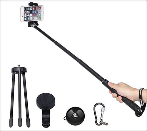 Foneso iPhone 7 and iPhone 7 Plus Selfie Stick