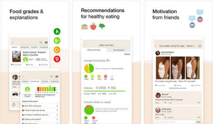 Fooducate iPhone App Screenshot