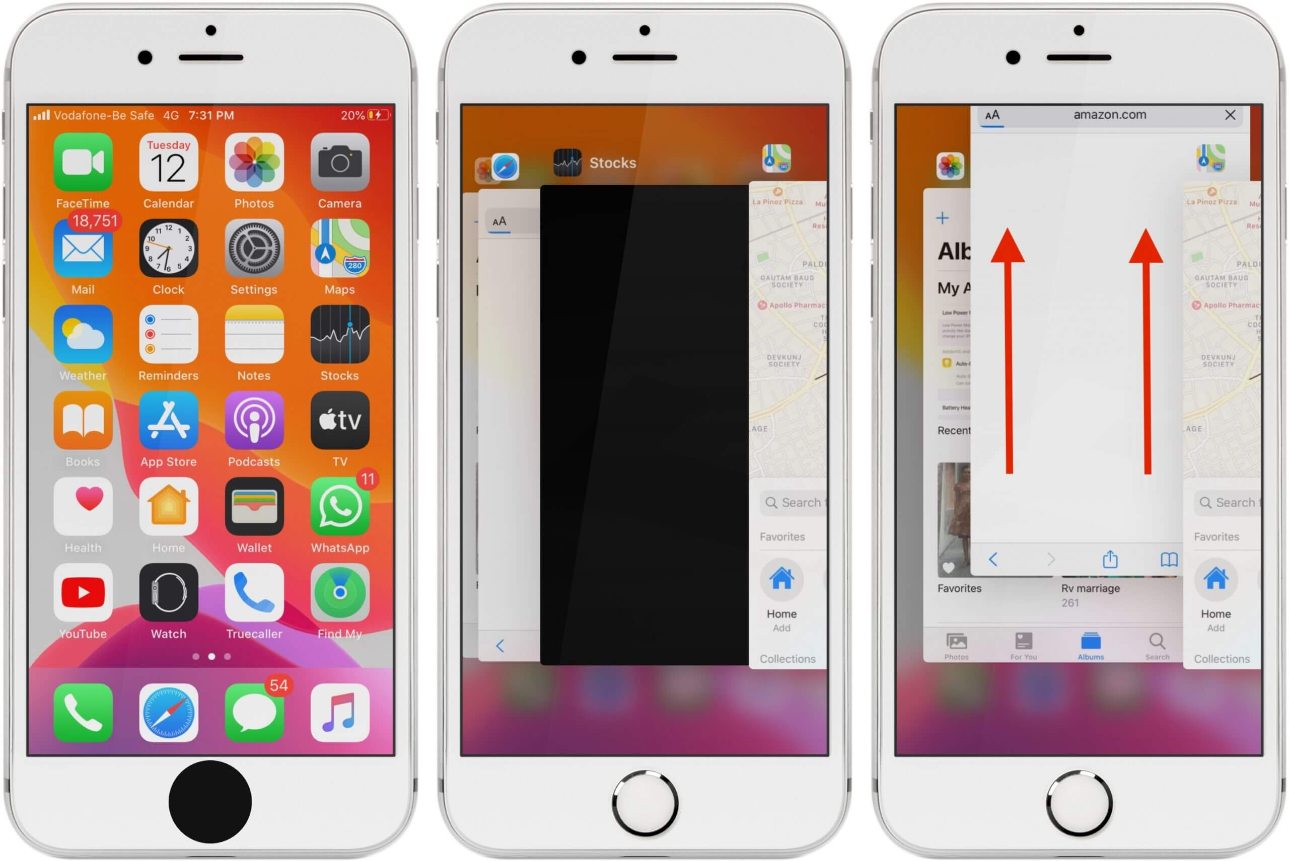 Force Quit an App on iPhone 6